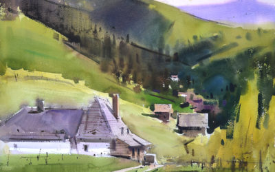 Eugen Chisnicean. Painting in the Carpathians. 8 lessons.