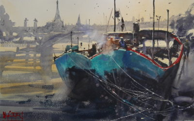 "Alvaro Castagnet. Lesson 2 ""River side of Paris"""